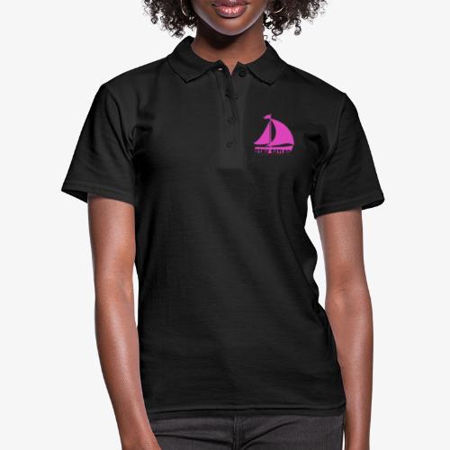 PINK SAILOR - Women's Polo Shirt