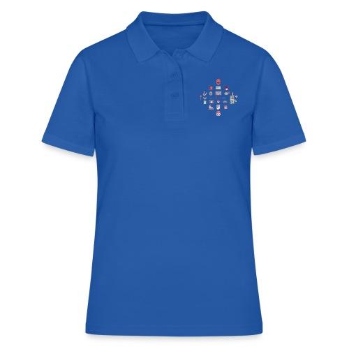 lo mejor de los 90 - Camiseta polo mujer