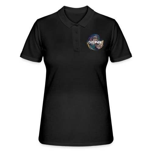 Dreamin Colorfull Print - Frauen Polo Shirt