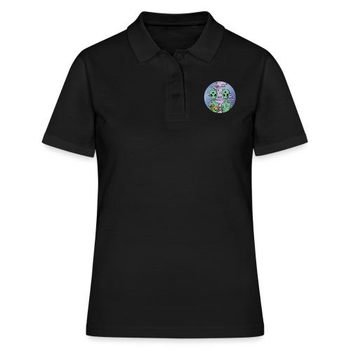 TRIPPY ALIEN - Women's Polo Shirt