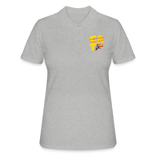 Que nome s els petons ens tapin la boca - Camiseta polo mujer