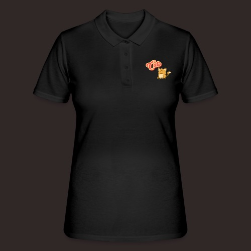 Katze | Katzen süß Schriftzug - Frauen Polo Shirt