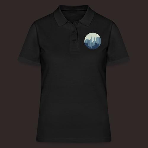 Stadt | Skyline Wolkenkratzer Hochhaus - Frauen Polo Shirt
