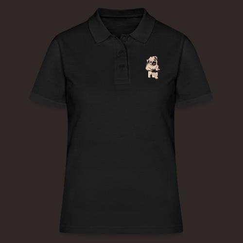 Mops | süß Hund Welpe - Frauen Polo Shirt