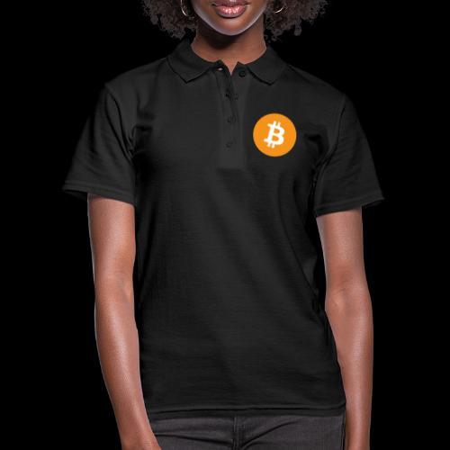 bitcoin logo - Frauen Polo Shirt