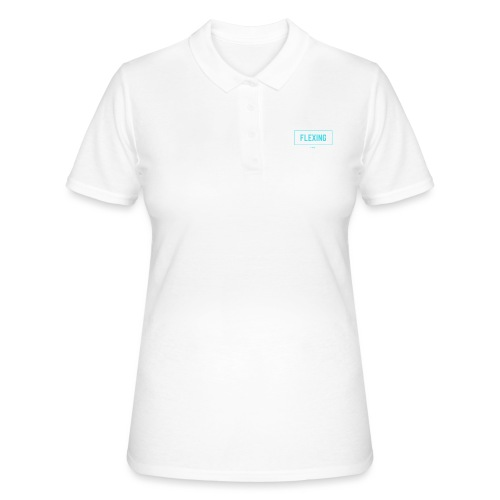 Flexing Box (LIGHT GREEN) - Women's Polo Shirt