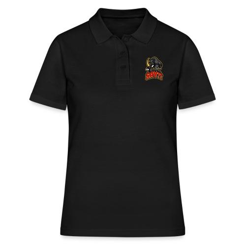 What did you say? grappige t-shirt /boze neushoorn - Vrouwen poloshirt