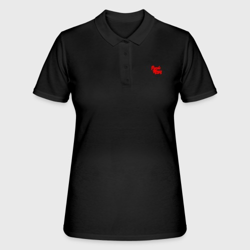 PurpleMoney Red Authentic Logo - Women's Polo Shirt