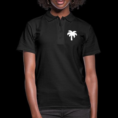 Palm Basic White - Women's Polo Shirt