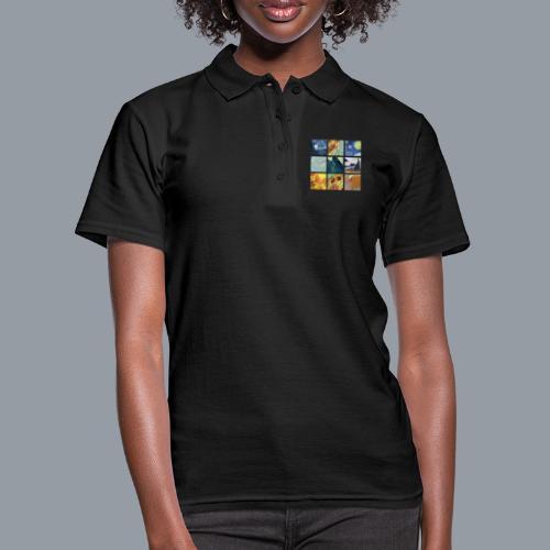 VAN GOGH COLLAGE - Camiseta polo mujer