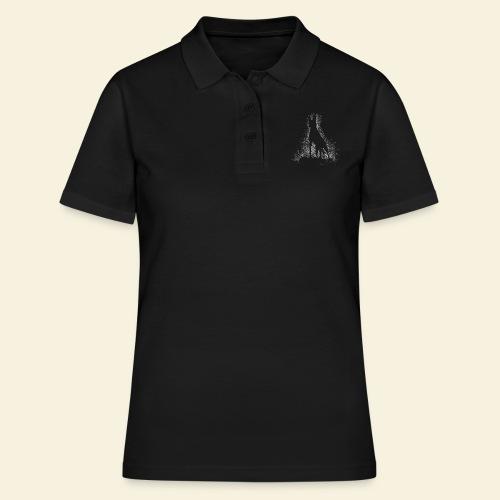 Dog Silhouette - Frauen Polo Shirt