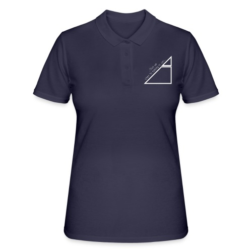 shut UP White - Women's Polo Shirt