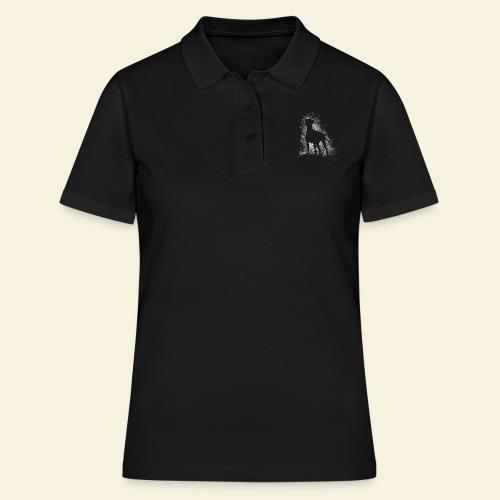 Dobi Silhouette - Frauen Polo Shirt