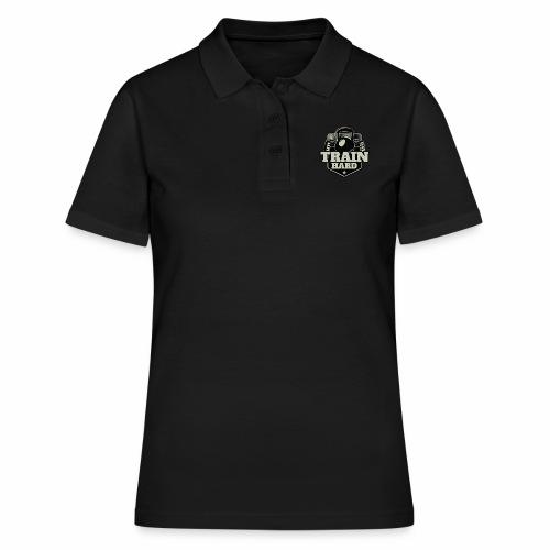 Train Hard - Frauen Polo Shirt