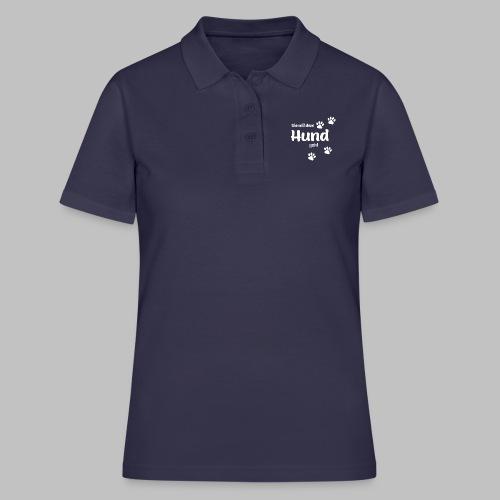 Die Mit Dem Hund Geht - Frauen Polo Shirt