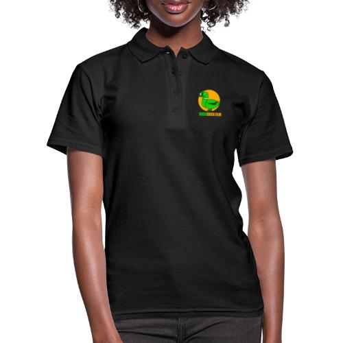 Greenduck Film Golden Sun Logo - Women's Polo Shirt