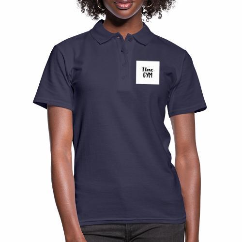 I love gym - Women's Polo Shirt