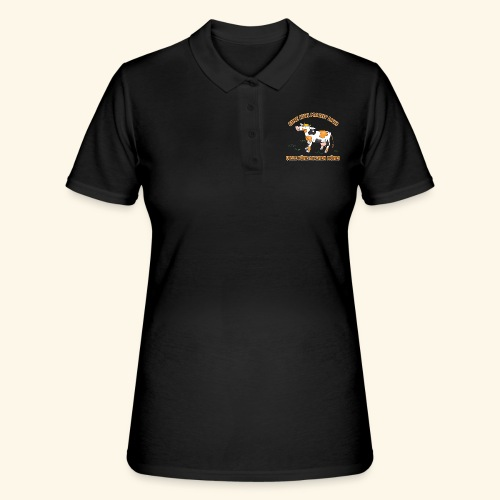 Eine Kuh macht MUH, viele Kühe machen Mühe! - Frauen Polo Shirt