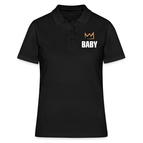 Baby mit Krone - Frauen Polo Shirt