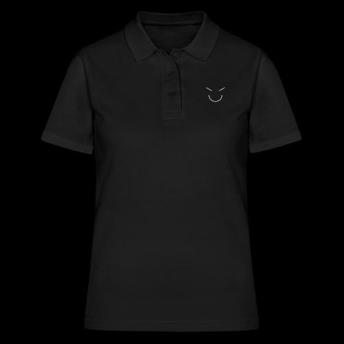 Gute Laune Weiss - Frauen Polo Shirt