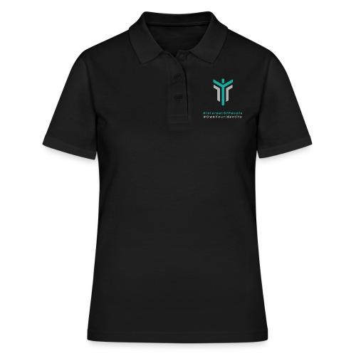 #InternetOfPeople #OwnYourIdentity - Women's Polo Shirt