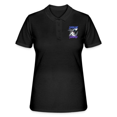 Shark Squad - PowerMEGAL0D0N - Women's Polo Shirt