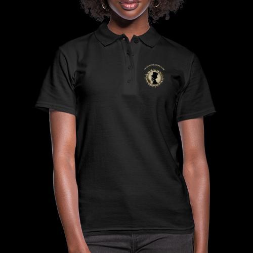 TÊTE DE MORT SILHOUETTE PORTRAIT GENTLEMAN - Women's Polo Shirt
