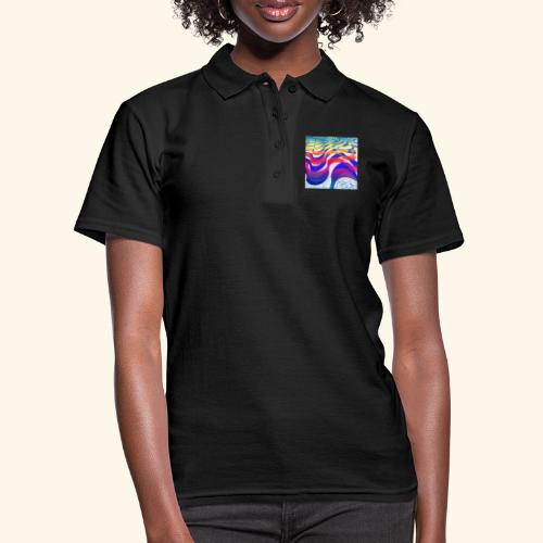 Onde colorate - Women's Polo Shirt