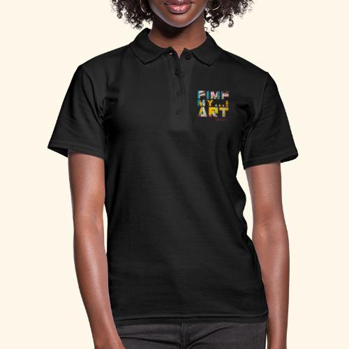 T SHIRTS TEKST PIMP MY ART - Women's Polo Shirt