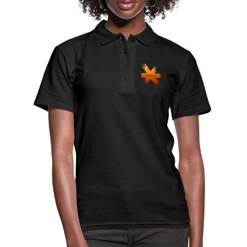 X-Perience Orange Logo - Frauen Polo Shirt
