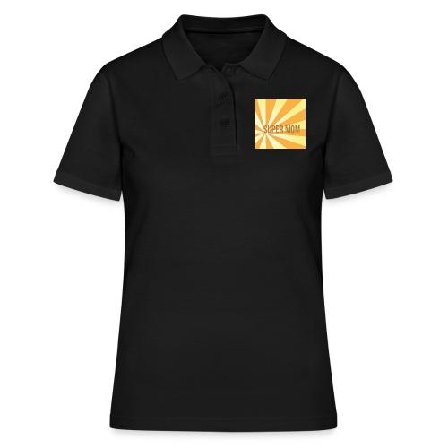 supermom maske2 - Frauen Polo Shirt
