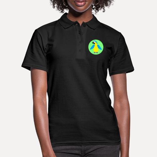 Yellow-breasted Macaw - Women's Polo Shirt