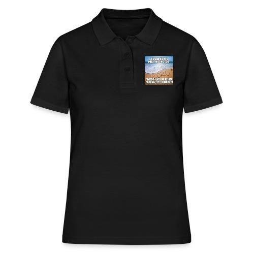 nichts Positives in 2020 - kein Corona-Test? - Frauen Polo Shirt