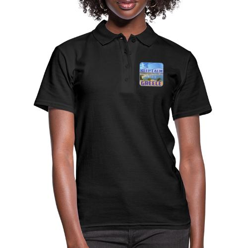 KEEP CALM and go to GREECE - Griechenland - Ellada - Frauen Polo Shirt