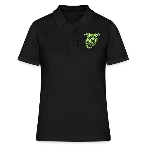 Staffbull negativ - Frauen Polo Shirt