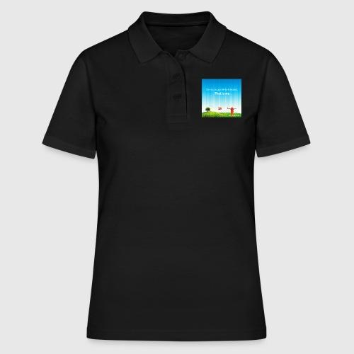 Rolling hills tshirt - Women's Polo Shirt