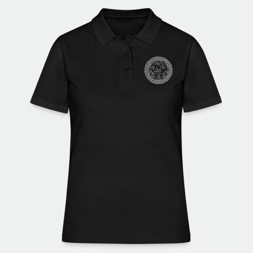 D20 Geschenk Glücksbringer Rollenspiel Würfel - Women's Polo Shirt