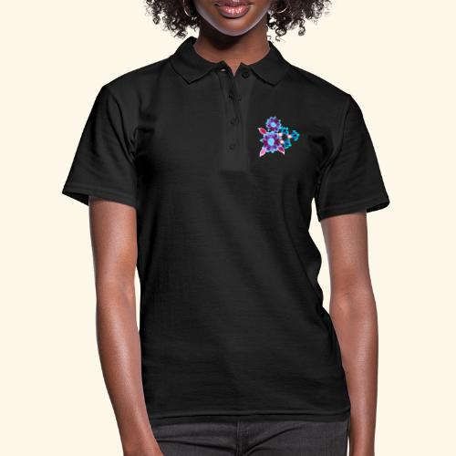 Hypnotic flowers - Women's Polo Shirt