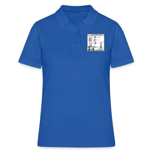W.O.T War tactic, tank shot - Women's Polo Shirt