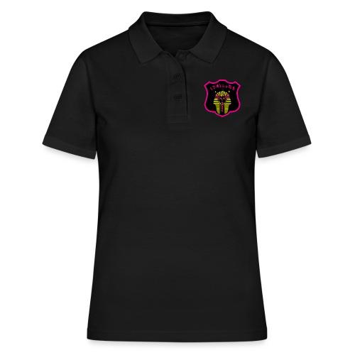 Pharaon Noir, Rose, Jaune hyper design - Polo Femme