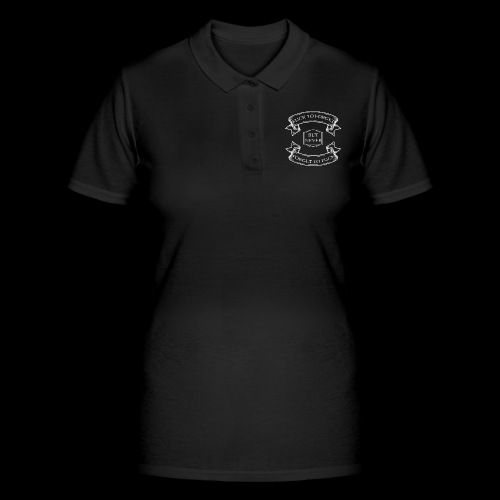 fuck to forget blanc - Women's Polo Shirt