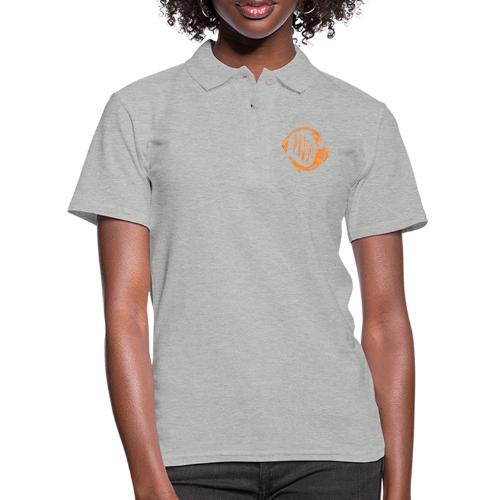 Aquarium Adventures Logo - Women's Polo Shirt