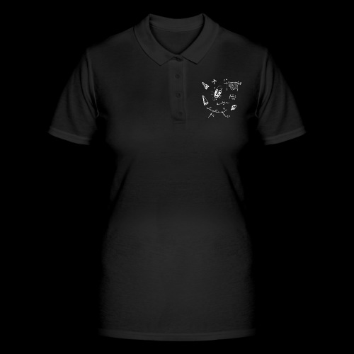 Doodles Weiss - Frauen Polo Shirt