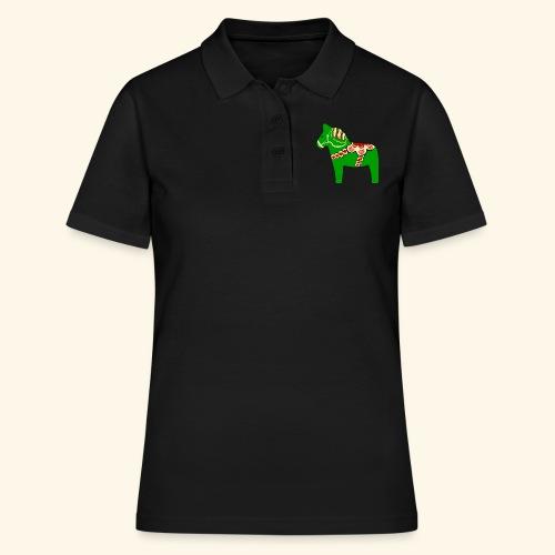 Grön dalahäst - Women's Polo Shirt