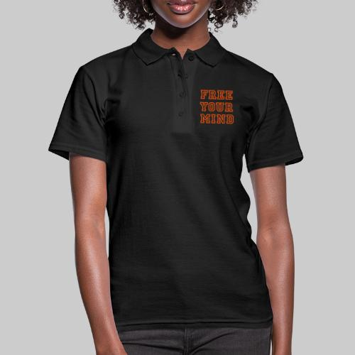 Free Your Mind - Women's Polo Shirt