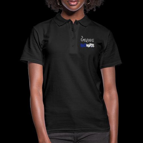 goin'backwards - Frauen Polo Shirt