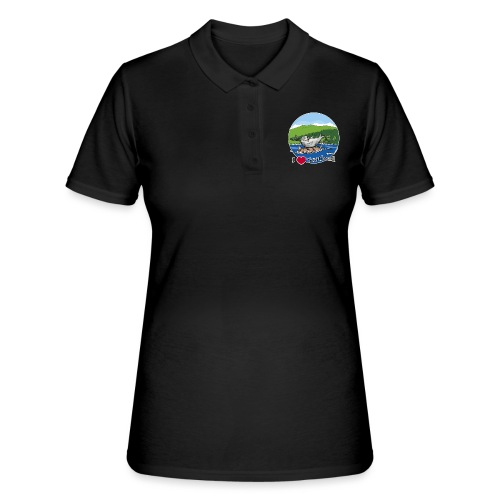 I heart Scotland - Sutherland & Caithness - Women's Polo Shirt