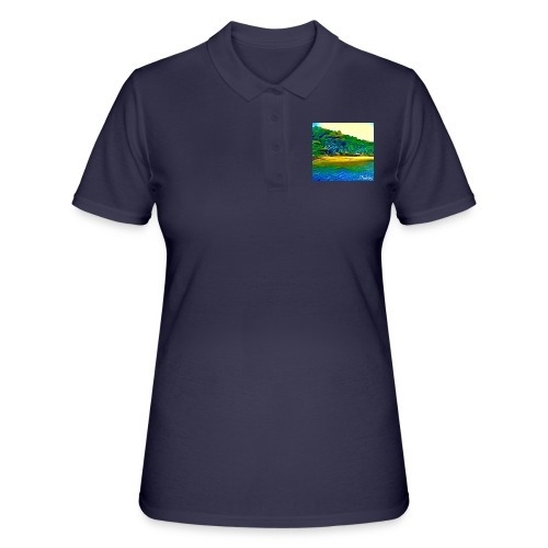 Tropical beach - Women's Polo Shirt