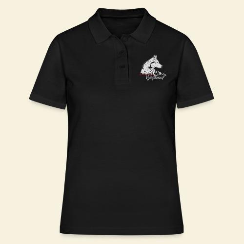 TWH_auf schwarz - Frauen Polo Shirt