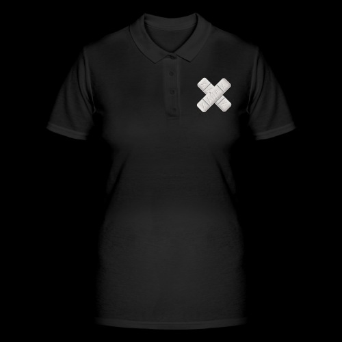 Xanax X Logo - Frauen Polo Shirt